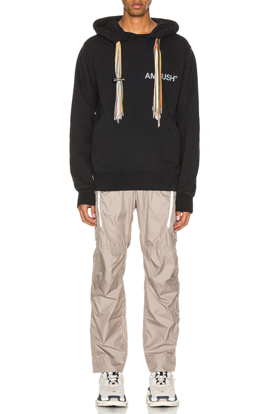Image 5 of Ambush New Multi Cord Hoodie in Black