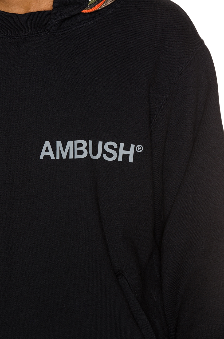 Image 6 of Ambush New Multi Cord Hoodie in Black