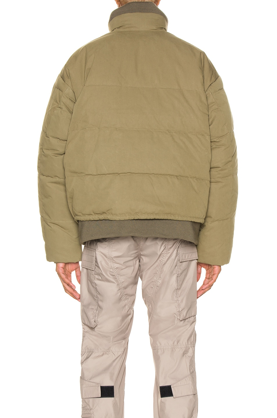 Image 6 of Ambush Padded Reversible Jacket in Olive