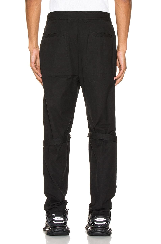 Image 4 of Ambush Zipper Bondage Pants in Black