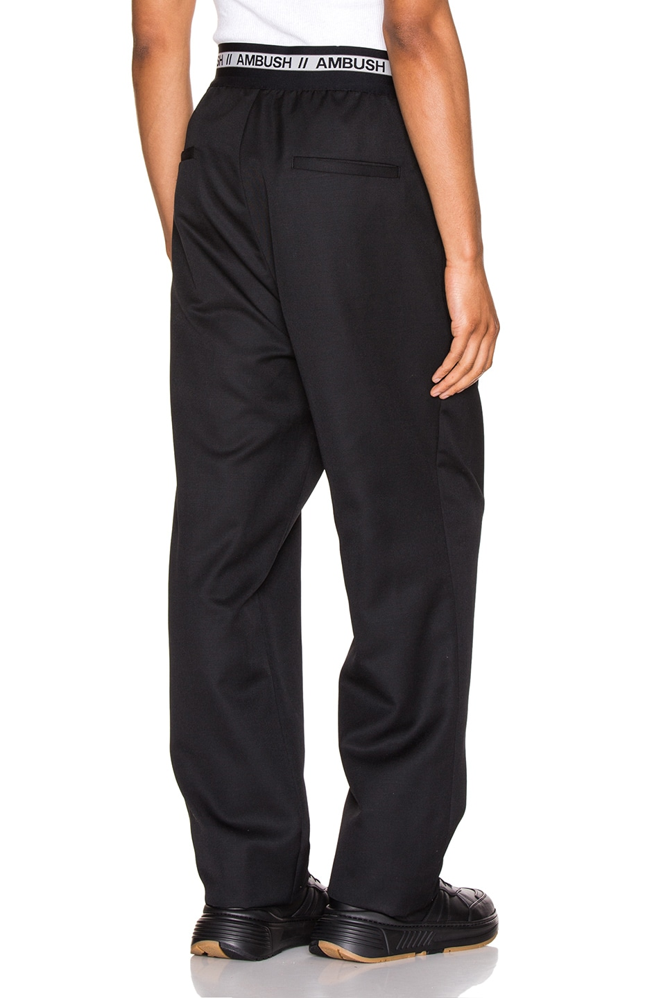 Image 1 of Ambush Logo Elastic Pants in Black