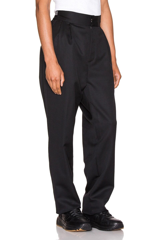 Image 3 of Ambush Logo Elastic Pants in Black