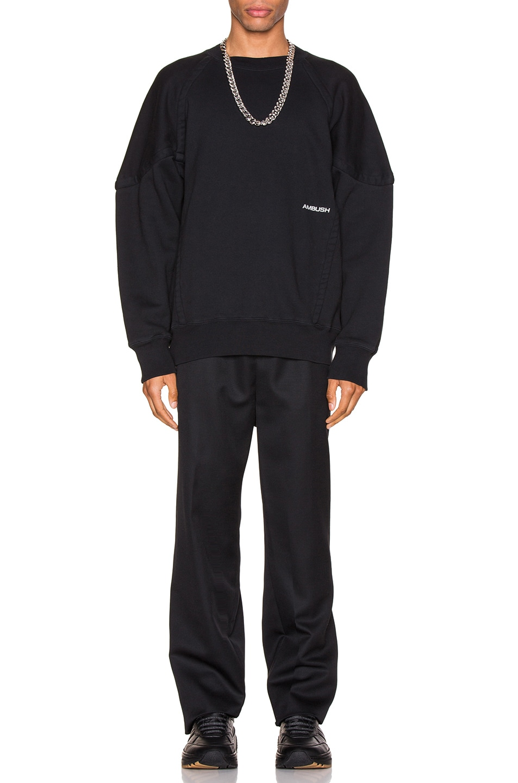 Image 5 of Ambush Logo Elastic Pants in Black