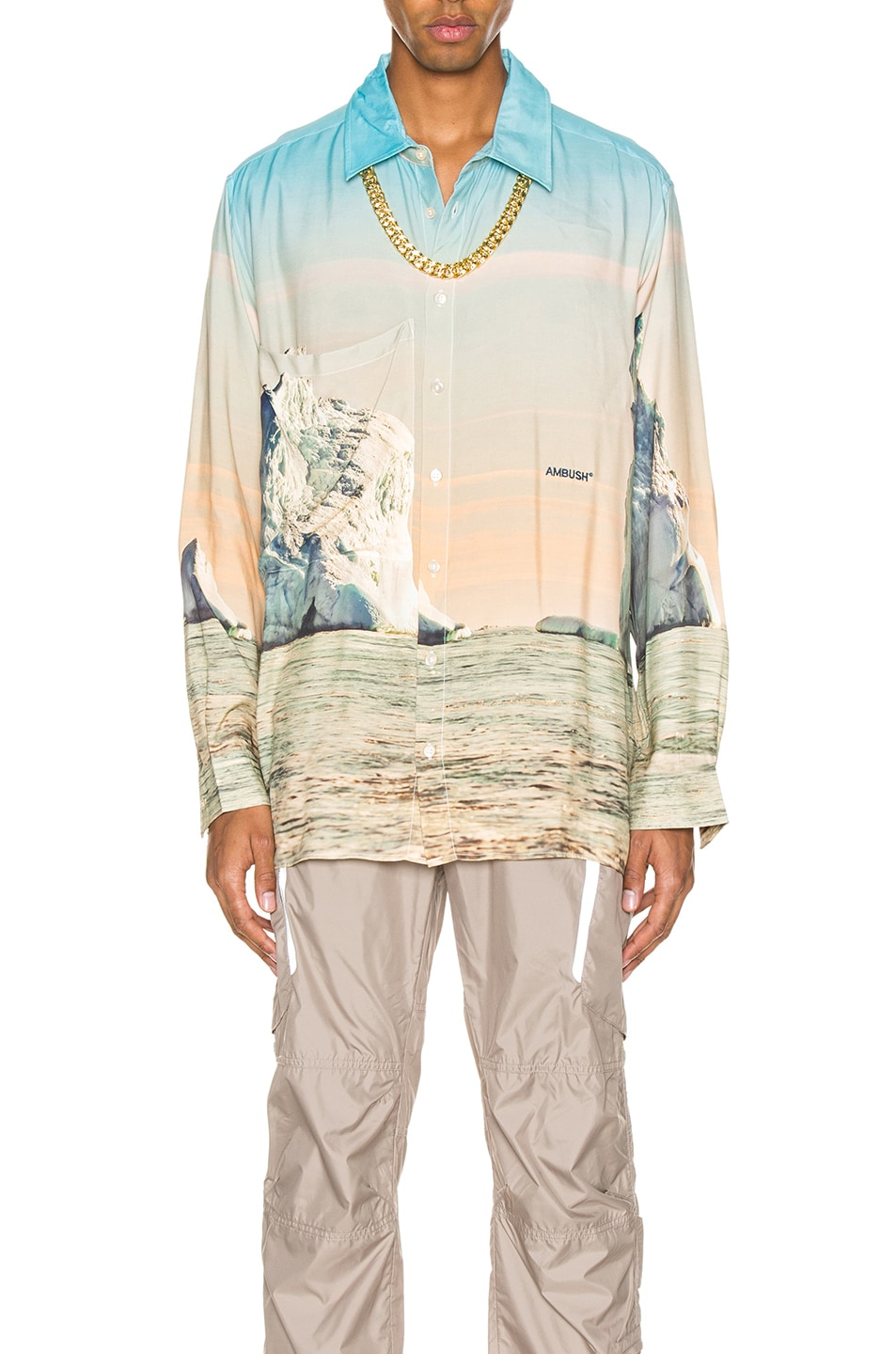 Image 1 of Ambush Iceberg Print Shirt in Multi