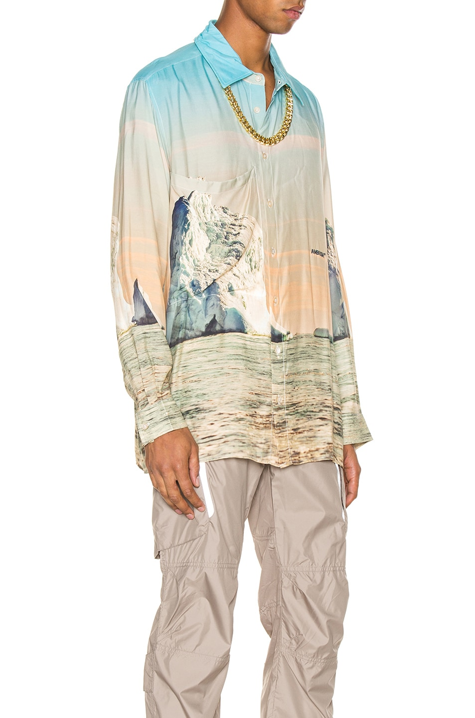 Image 2 of Ambush Iceberg Print Shirt in Multi
