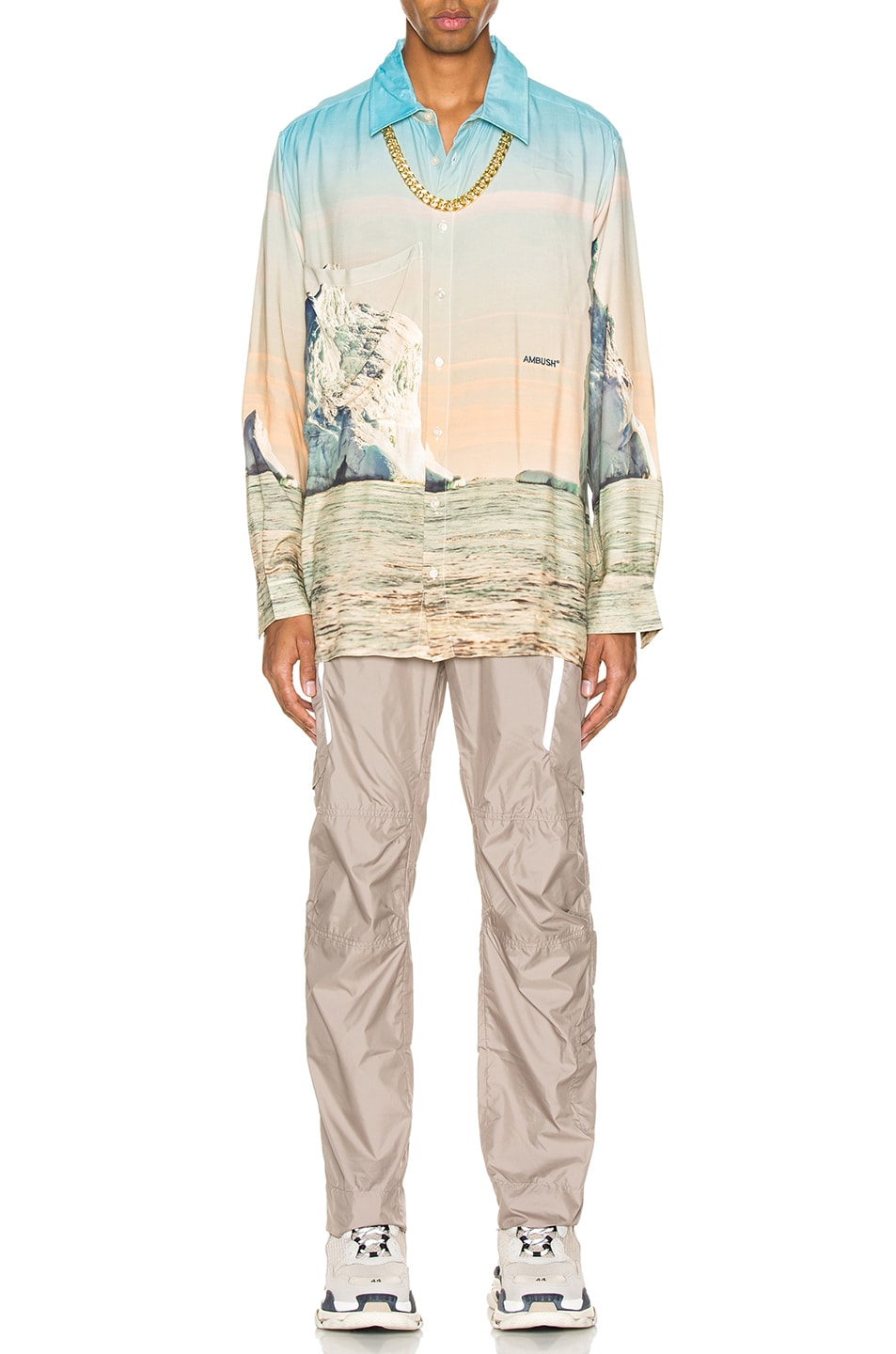 Image 5 of Ambush Iceberg Print Shirt in Multi
