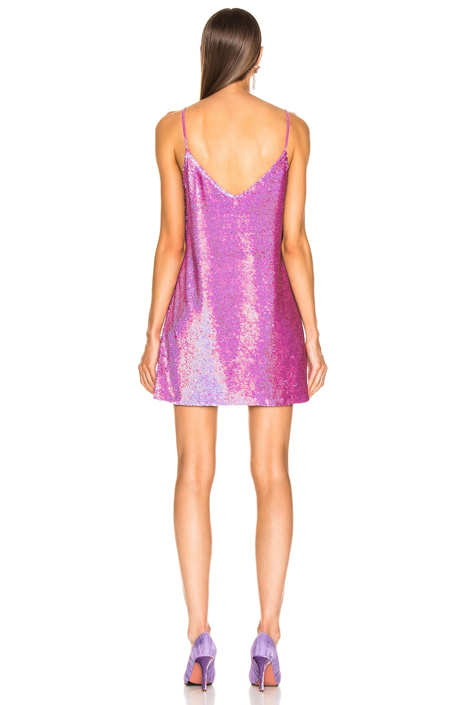 Image 3 of Ashish Mini Dress in Pink