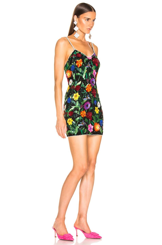 Image 2 of Ashish Beaded Mini Dress in Magicflowers