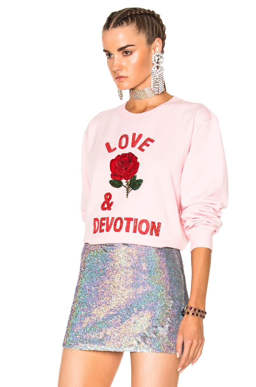 Image 2 of Ashish Love & Devotion Sweatshirt in Pink