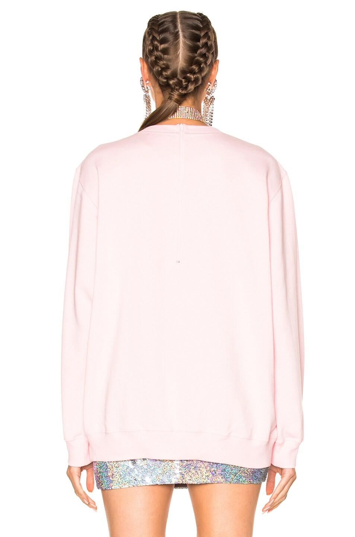 Image 4 of Ashish Love & Devotion Sweatshirt in Pink