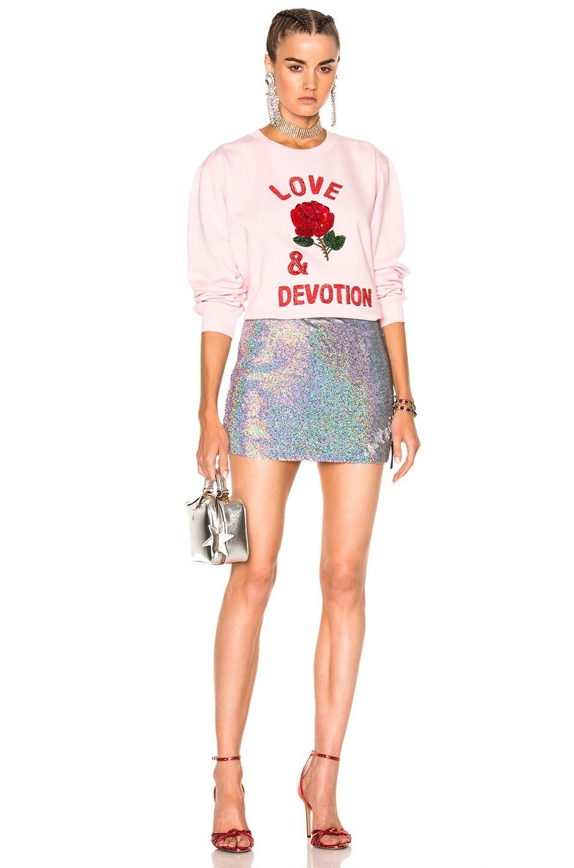 Image 5 of Ashish Love & Devotion Sweatshirt in Pink