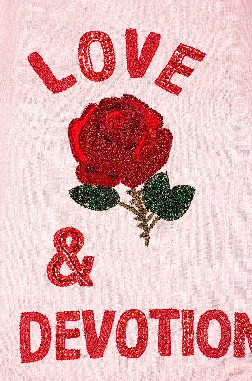 Image 6 of Ashish Love & Devotion Sweatshirt in Pink