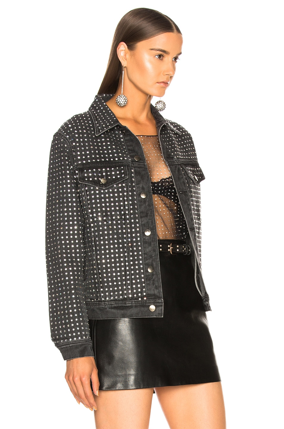 Image 2 of Ashish Jacket in Charcoal Black