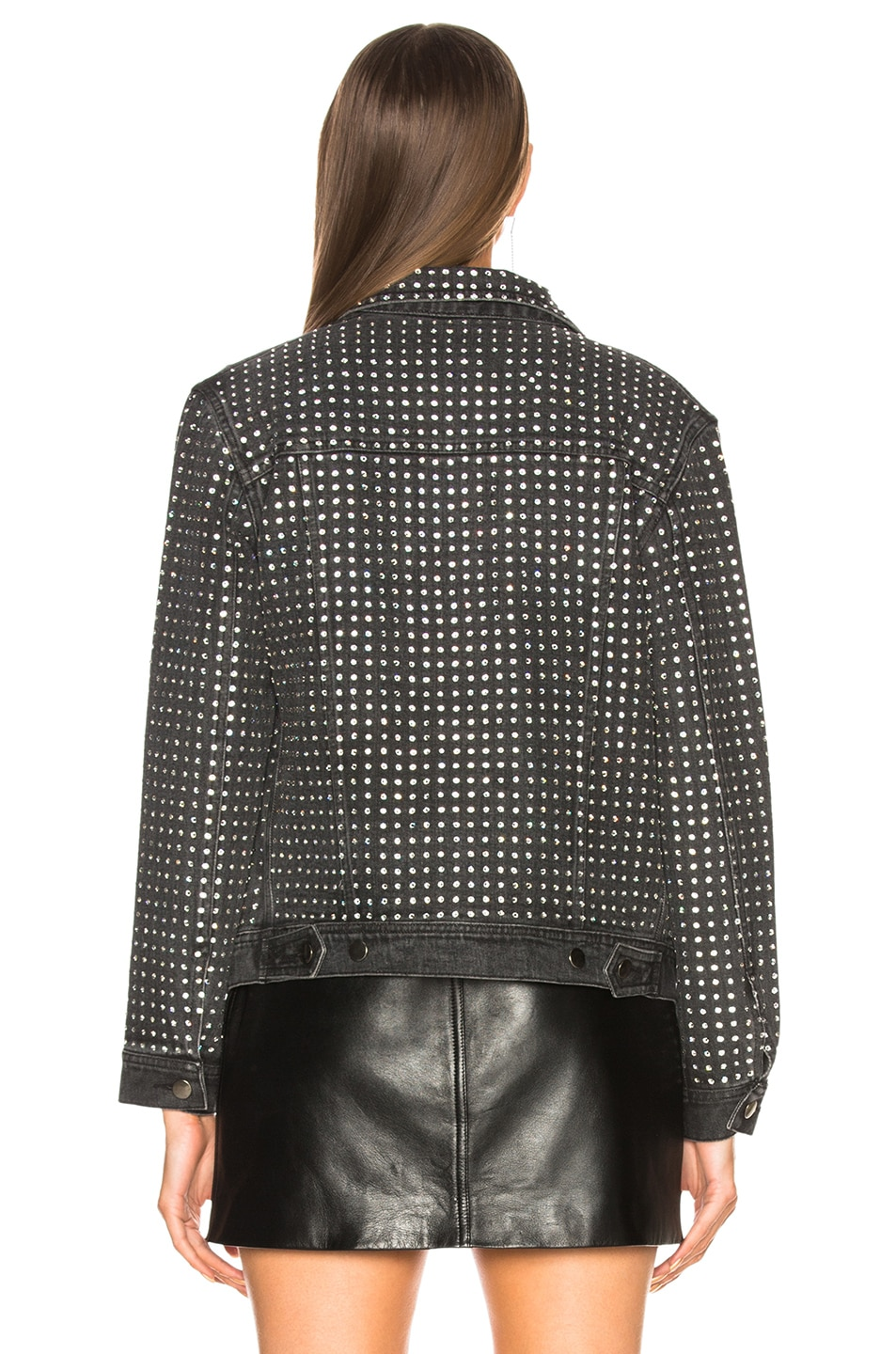 Image 3 of Ashish Jacket in Charcoal Black