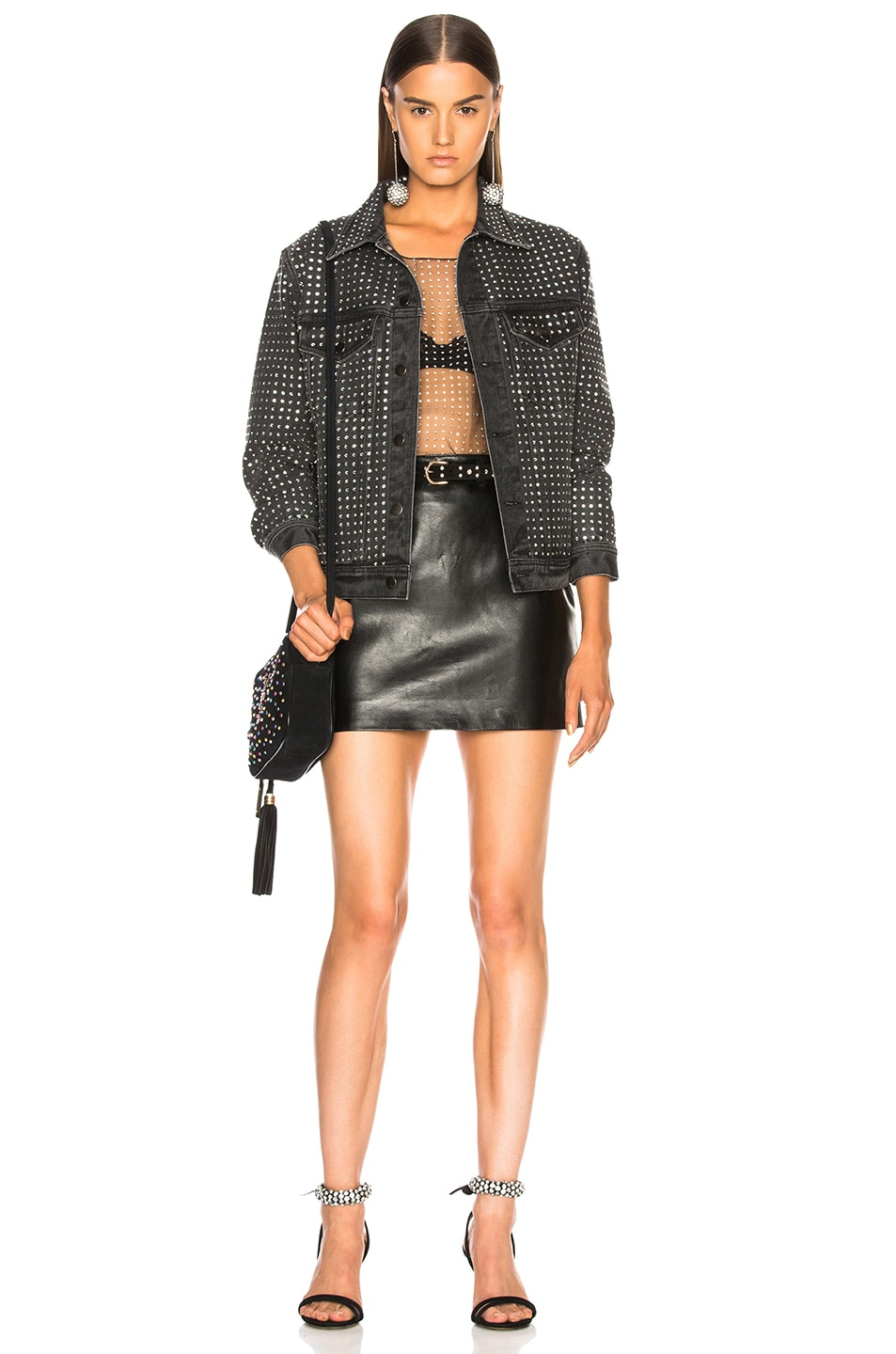 Image 4 of Ashish Jacket in Charcoal Black