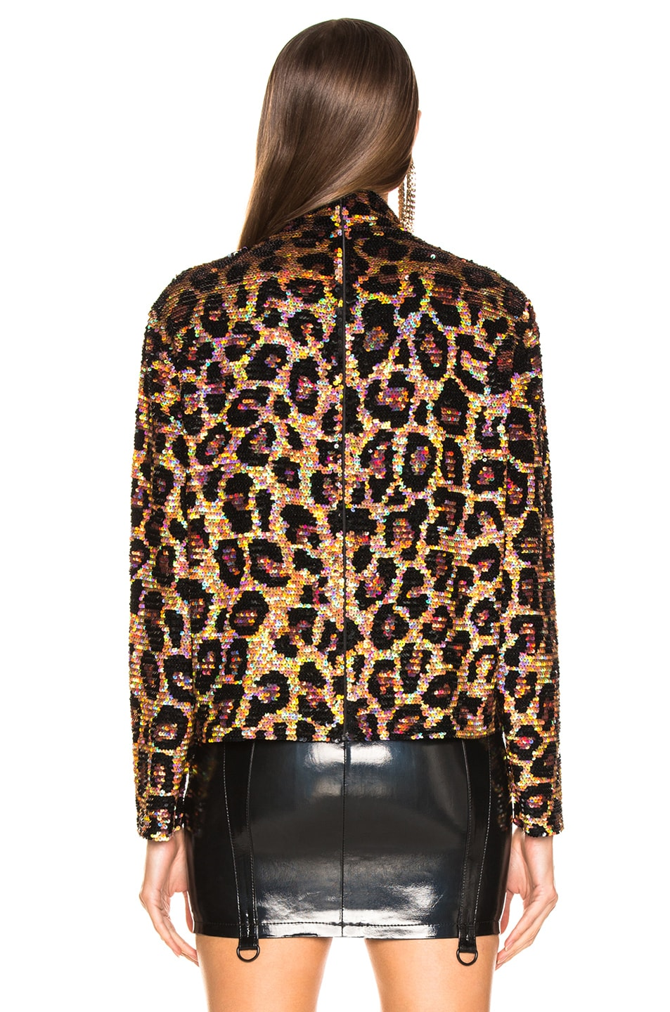 Image 3 of Ashish Sequin Top in Classic Leopard
