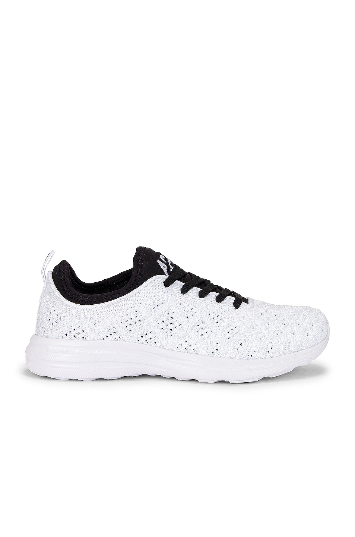 Image 1 of APL: Athletic Propulsion Labs TechLoom Phantom Sneaker in Metallic Pearl, Black, & White