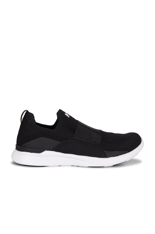 Image 1 of APL: Athletic Propulsion Labs TechLoom Bliss Sneaker in Black & White