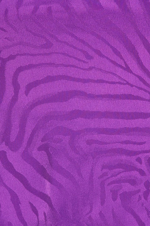 Image 6 of ATTICO Zebra Jacquard Blouse in Violet