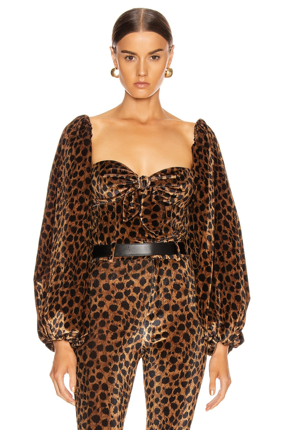 Attico Accessories Leopard Top