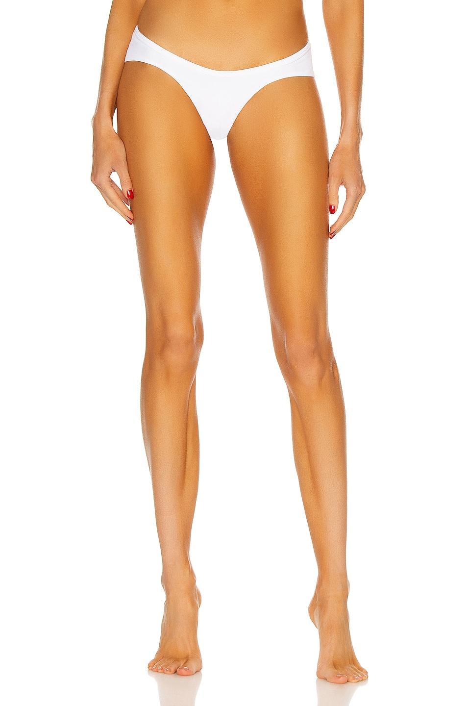 Image 1 of THE ATTICO Bikini Bottom in White