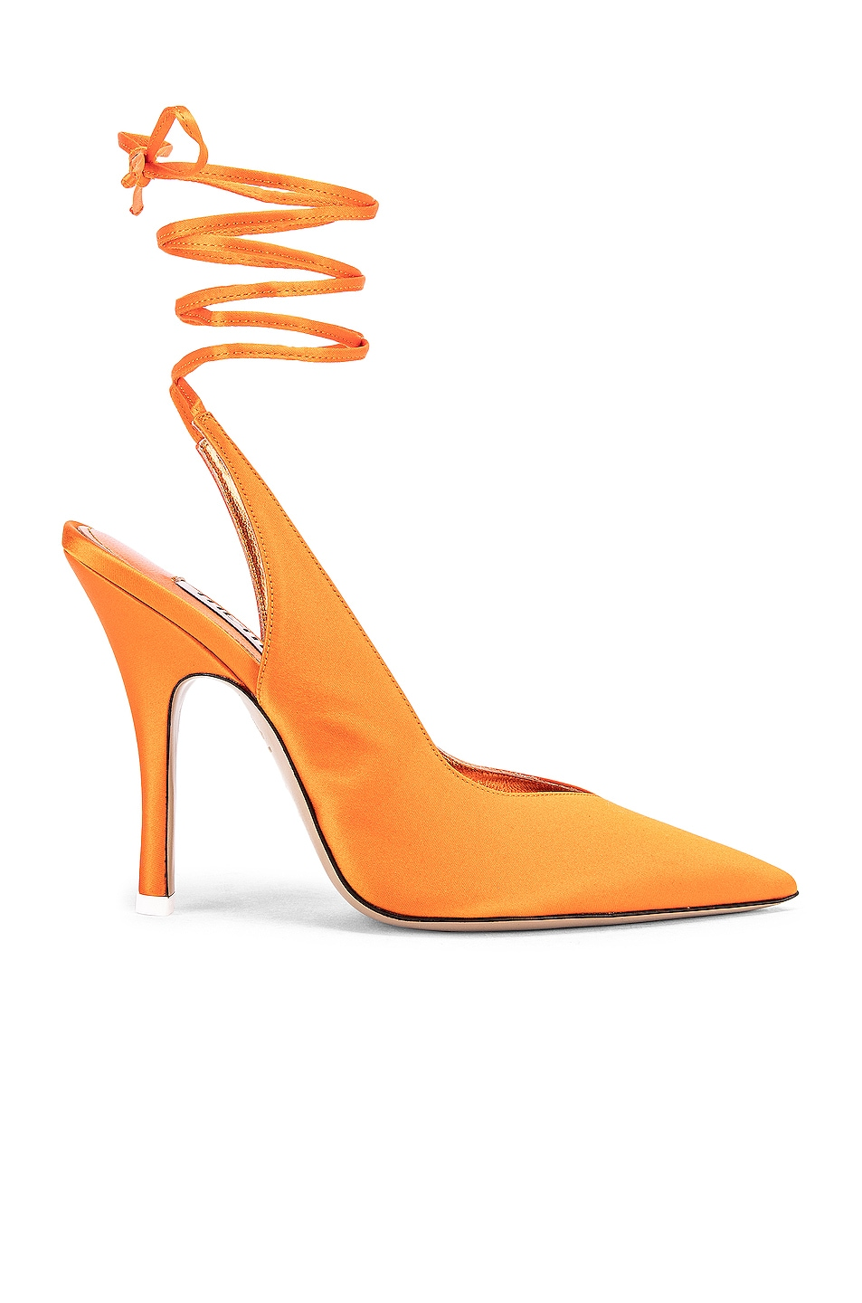 Image 1 of ATTICO High Heel Slingback in Orange