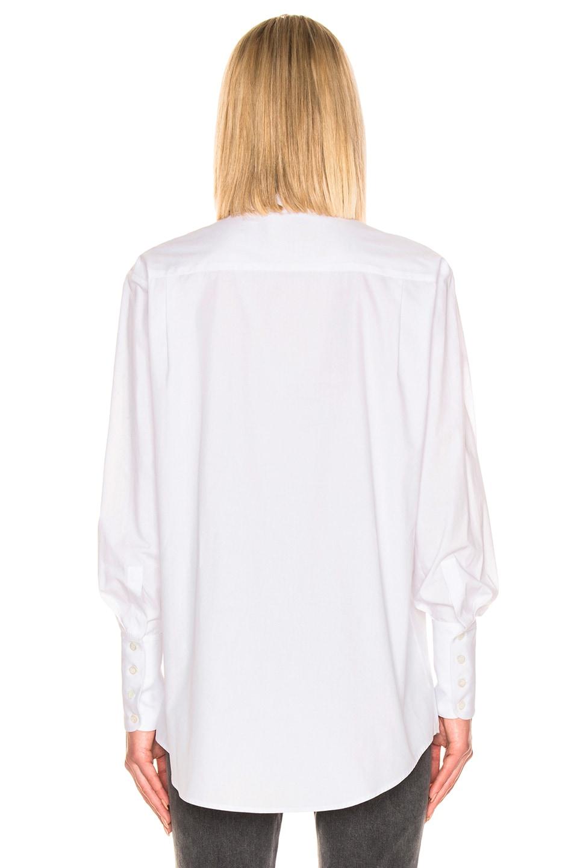 Image 3 of ALEXACHUNG Classic Shirt in White