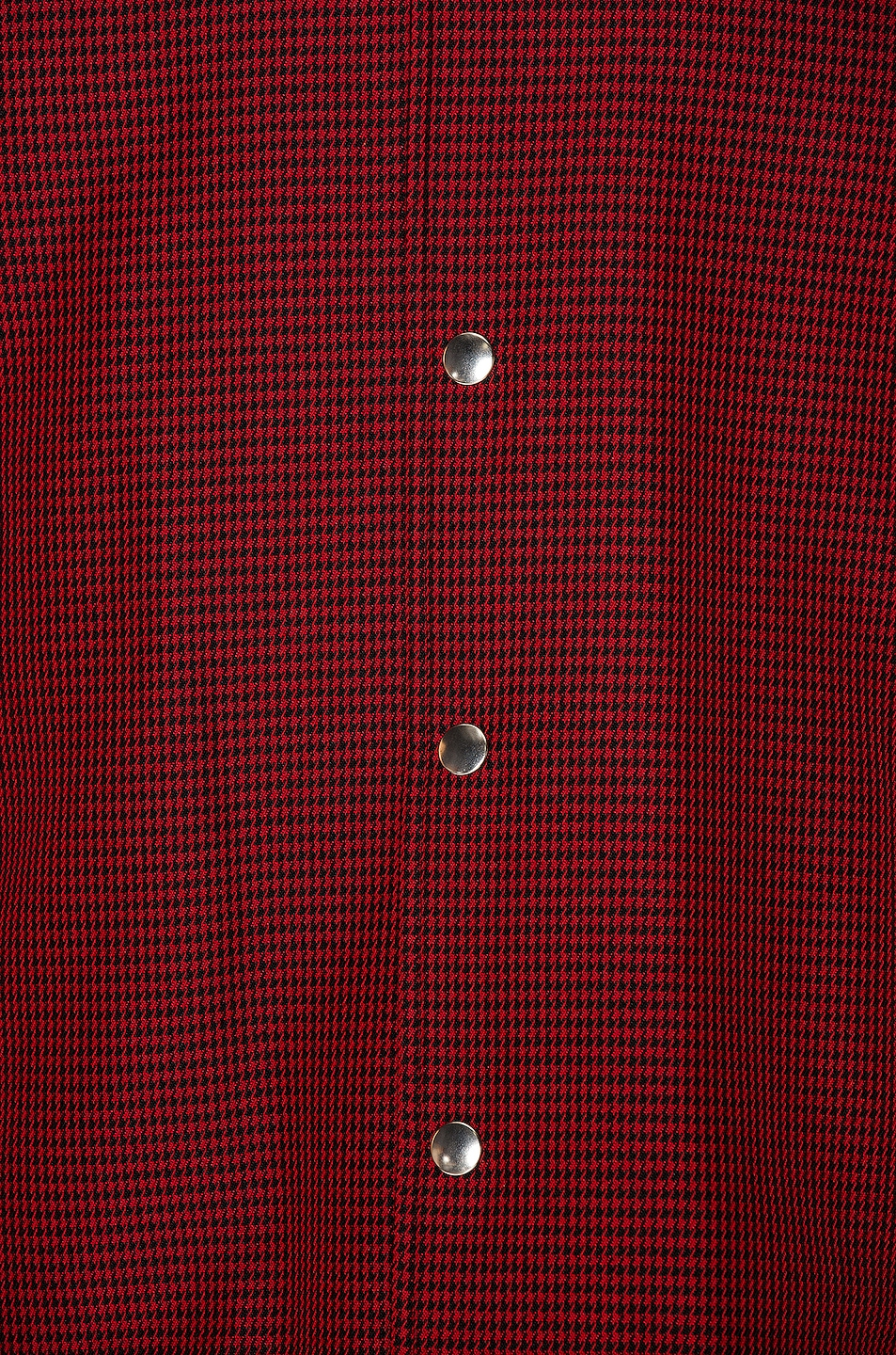 Image 7 of Alexander Wang Suiting Coaches Jacket in Red & Black