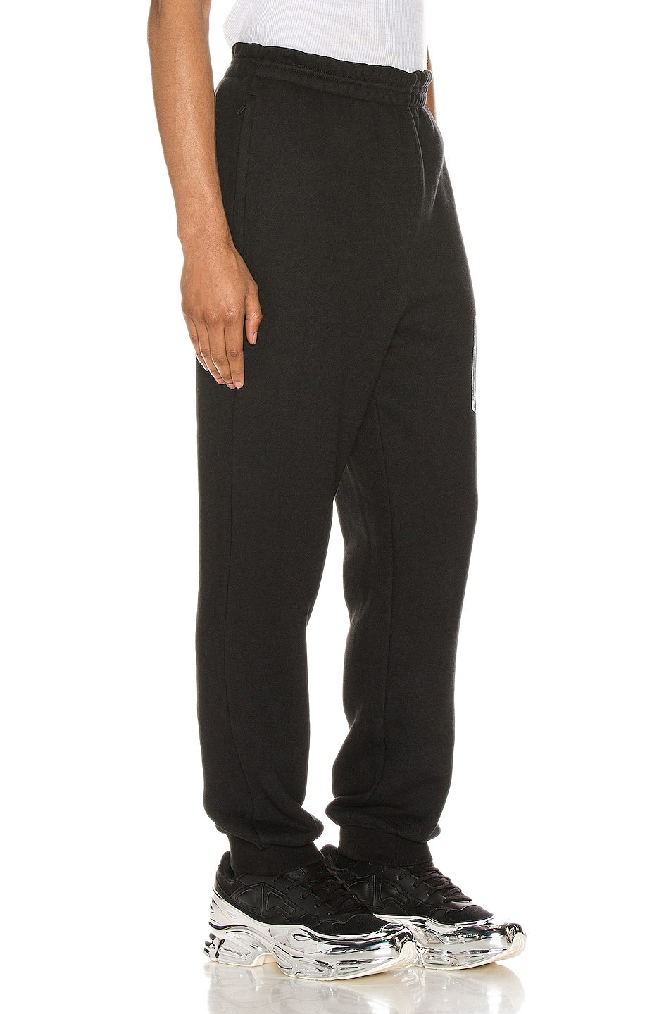 Image 3 of Alexander Wang Graphic Sweatpant in Black