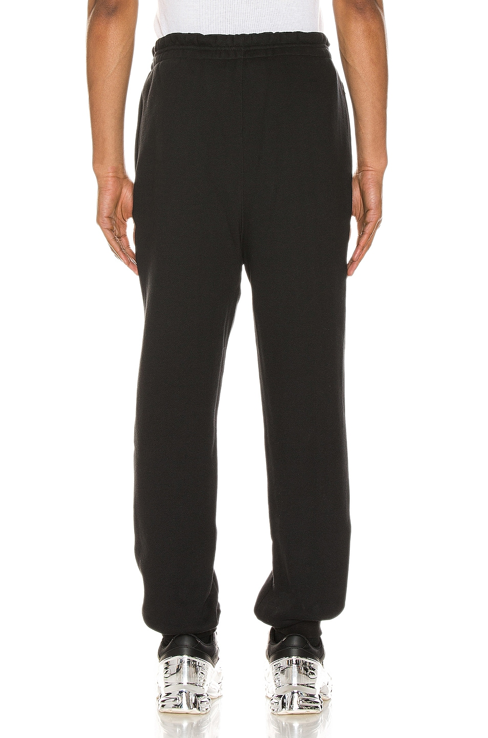 Image 4 of Alexander Wang Graphic Sweatpant in Black