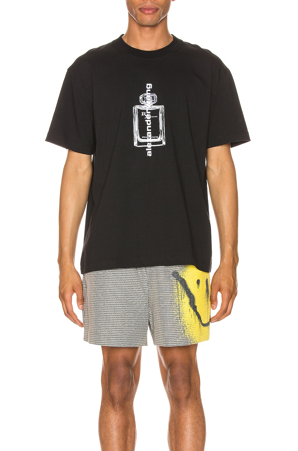 Image 1 of Alexander Wang Graphic T-Shirt in Black