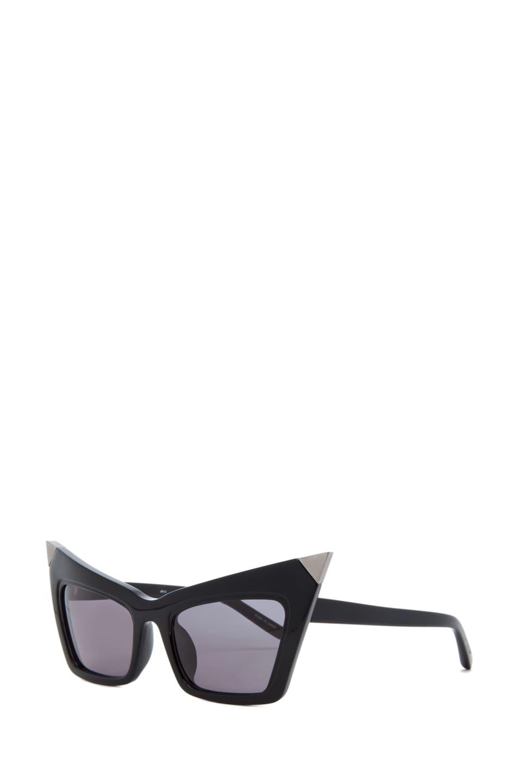 c7959dc669 Image 2 of Alexander Wang Cat Eye Sunglasses in Black