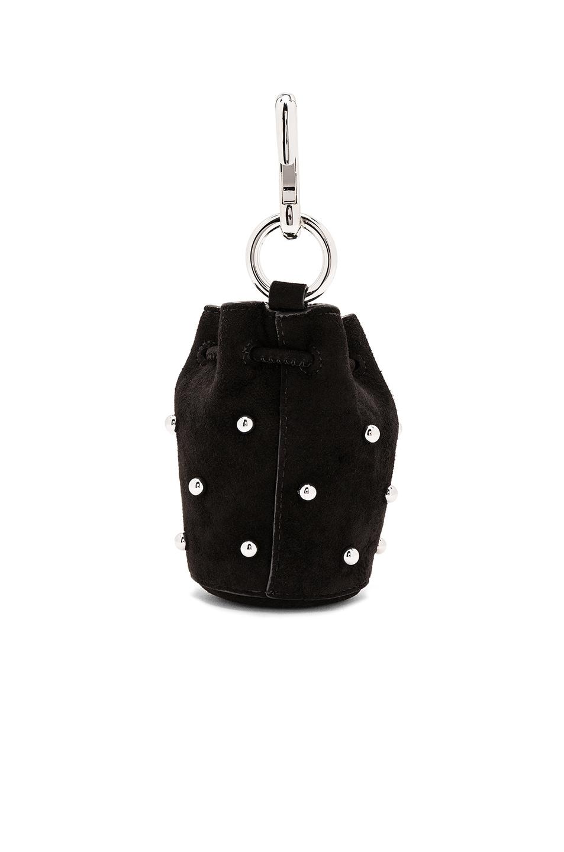 Alexander Wang Mini Roxy Studs Key Chain in Black ASapUYe
