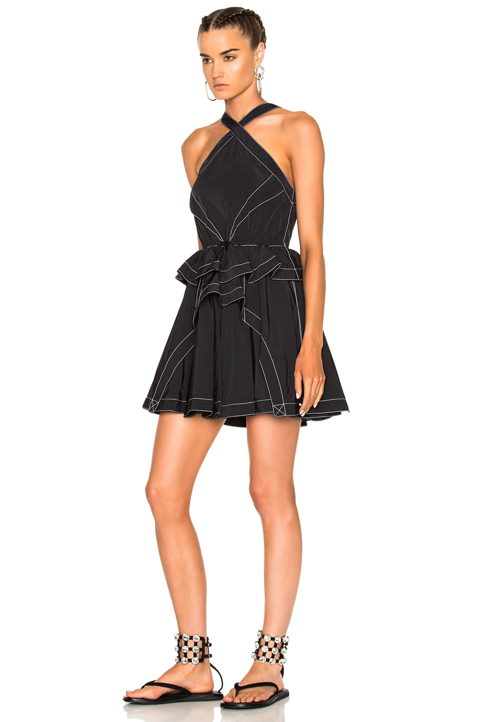 Image 2 of Alexander Wang Sleeveless Dress in Nocturnal