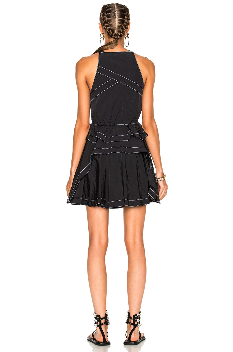 Image 4 of Alexander Wang Sleeveless Dress in Nocturnal