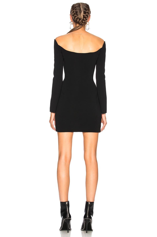 f0716cb5f7a Image 3 of Alexander Wang Illusion Mini Dress in Black