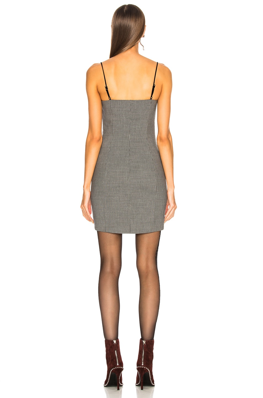 Image 3 of Alexander Wang Tailored Mini Dress in Grey Multi