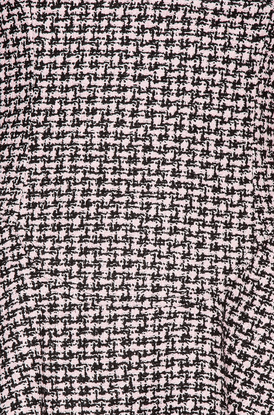 Image 4 of Alexander Wang Tweed Fit and Flare Dress in Black & Pink