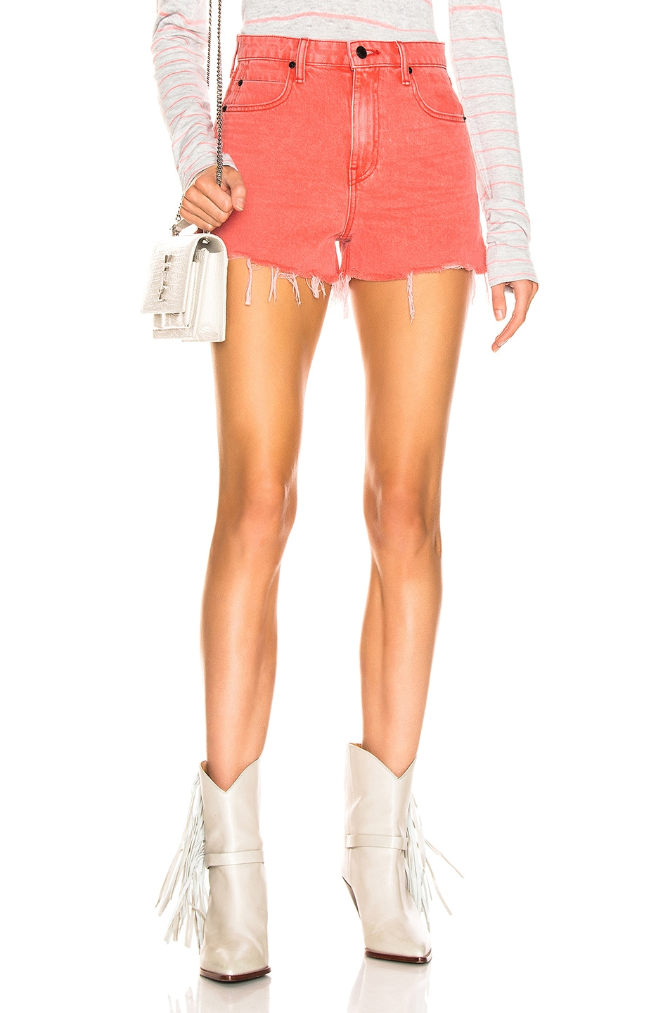 Image 1 of Alexander Wang Bite Short in Red