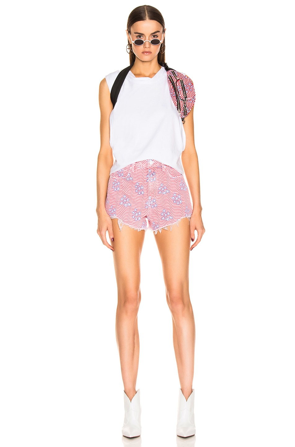 Image 4 of Alexander Wang Bite Short in Stars & Stripes