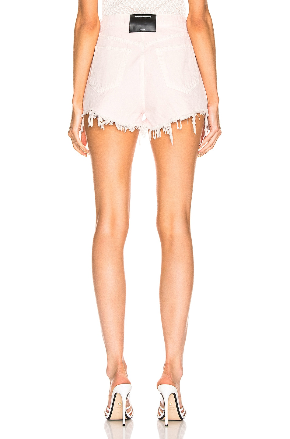 Image 3 of Alexander Wang Bite Short in Pink