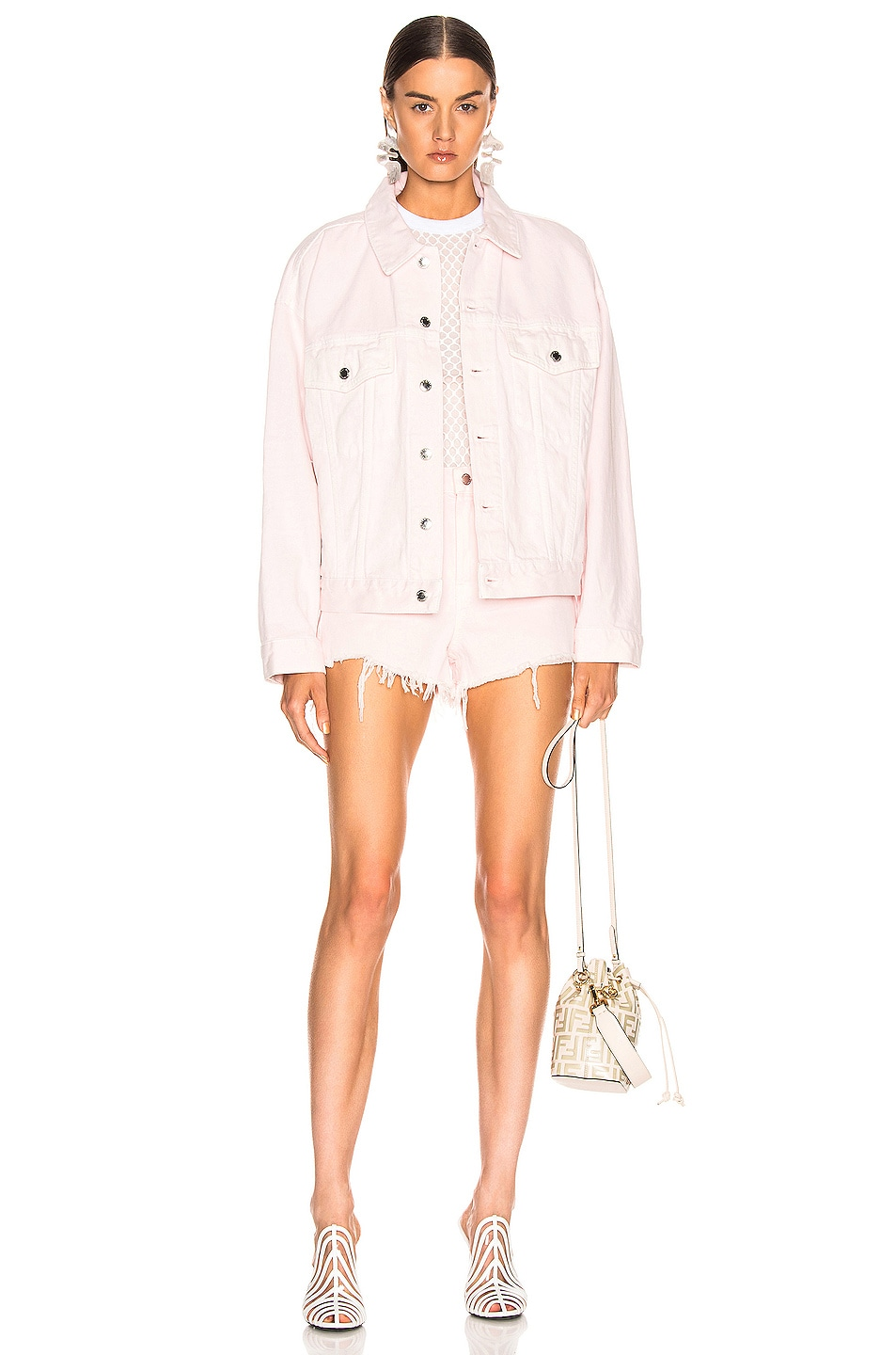 Image 4 of Alexander Wang Bite Short in Pink