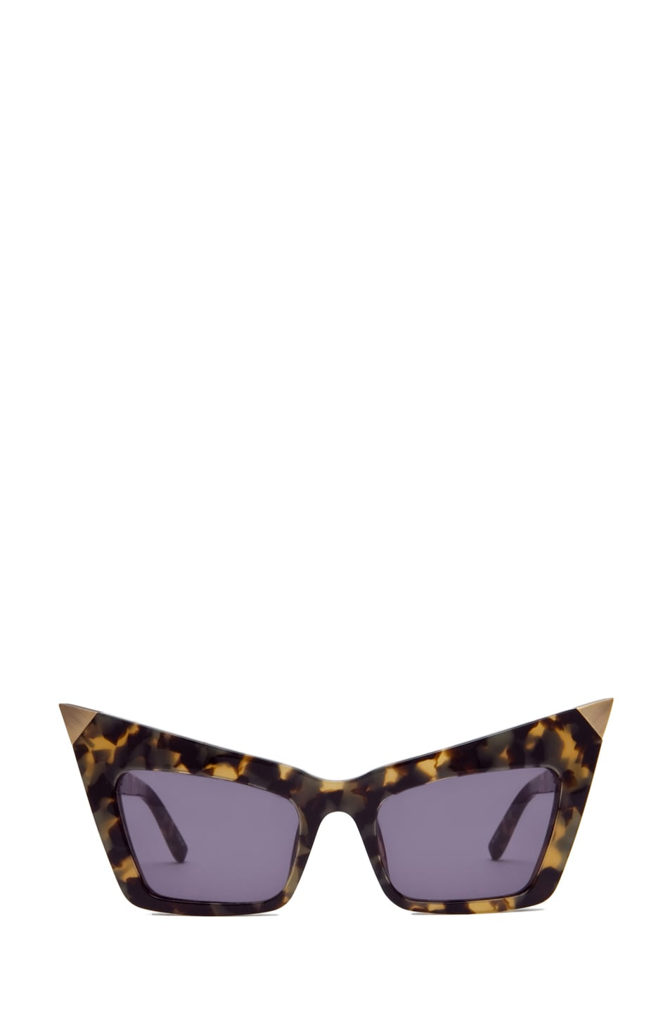 Image 1 of Alexander Wang Cat Eye Sunglasses/Antique Gold in T-Shell
