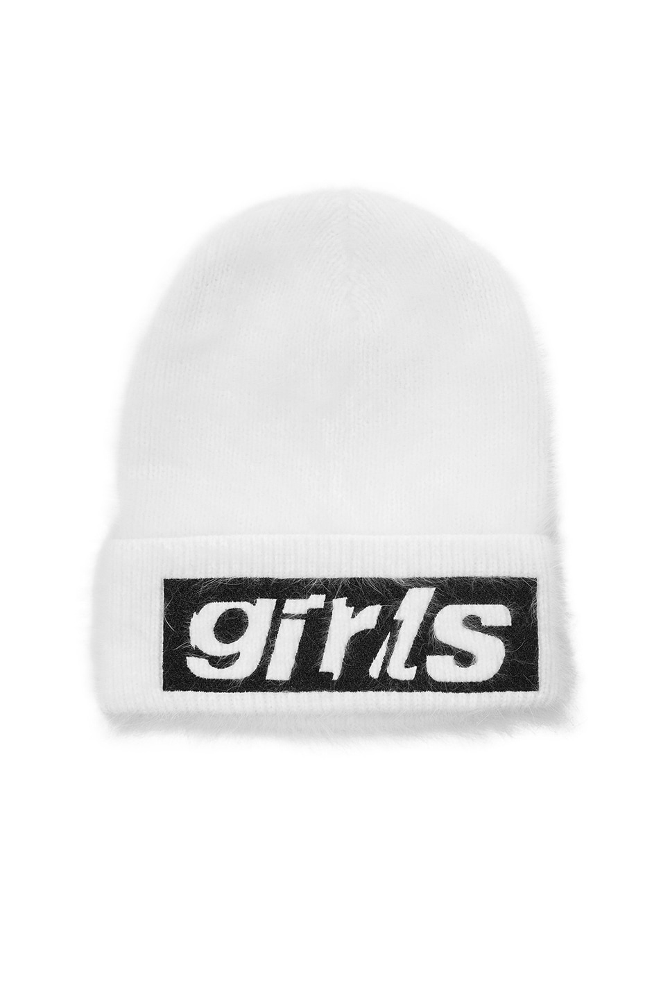 Image 1 of Alexander Wang Graphic Beanie in Ivory