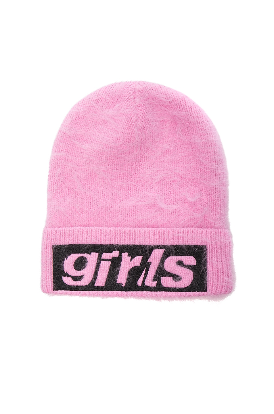 Image 1 of Alexander Wang Graphic Beanie in Pink