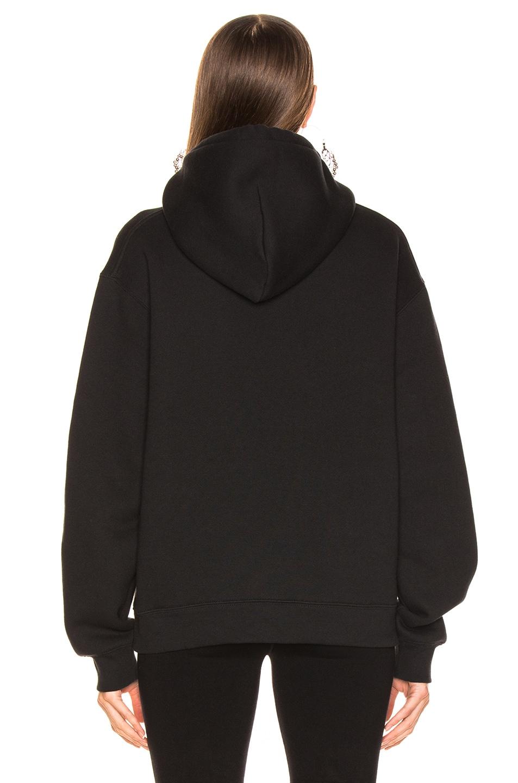 Image 4 of Alexander Wang Bolo Tie Sweatshirt in Black