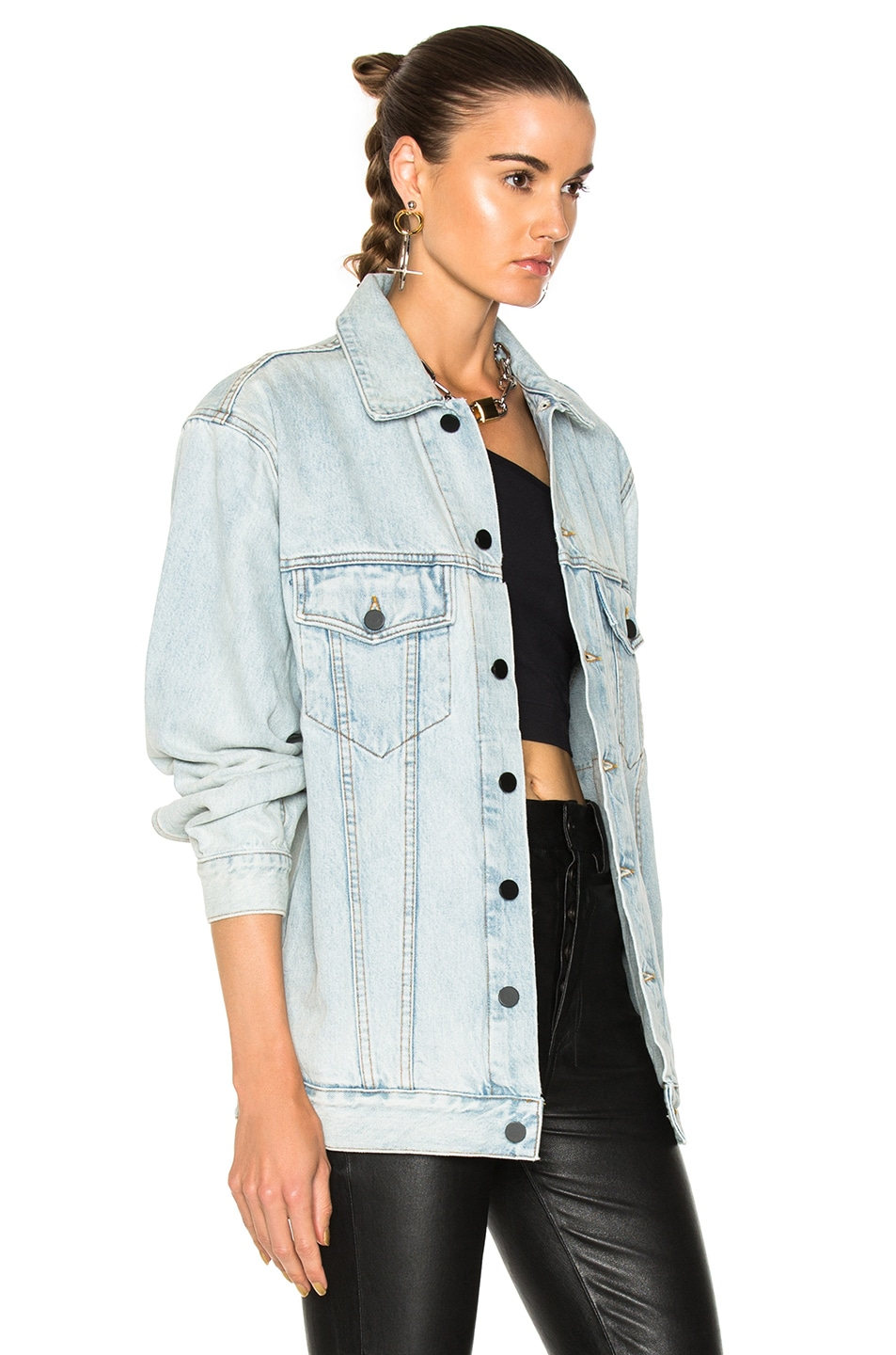 Image 2 of Alexander Wang Daze Jacket in Bleach