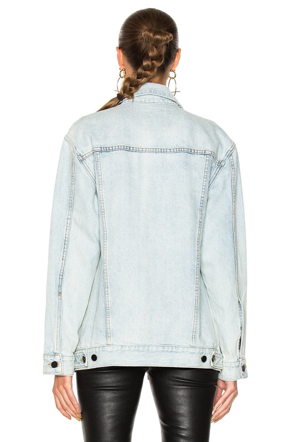 Image 3 of Alexander Wang Daze Jacket in Bleach