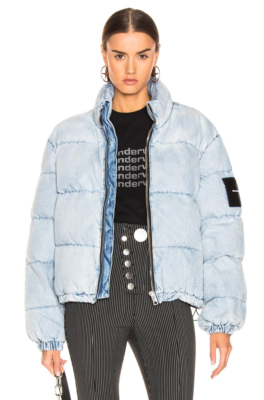 Image 1 of Alexander Wang Puffer Jacket in Bleach