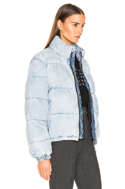 Image 3 of Alexander Wang Puffer Jacket in Bleach